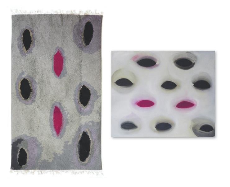 Weit offen Tapis&Bild 257x147 22500 Knoten/qm 120x100 Teppich Design Claudia Franzen